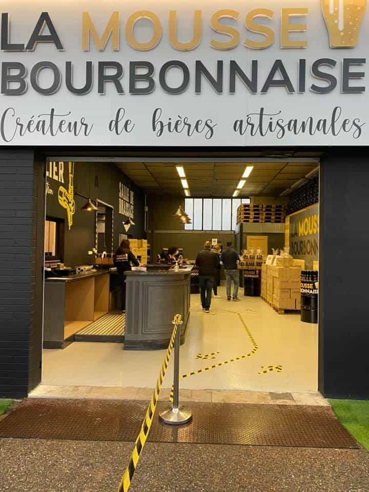 La Mousse Bourbonnaise - Ouverture
