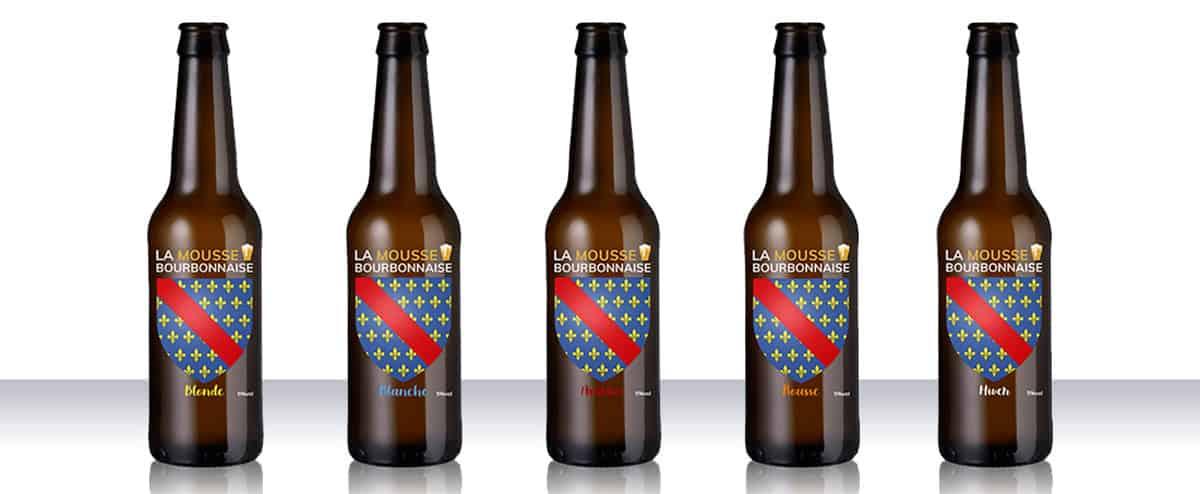 La Mousse Bourbonnaise - Gamme